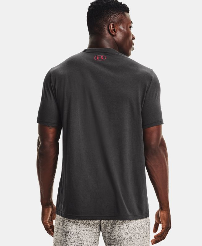 男士Project Rock强森Brahma Bull短袖T恤