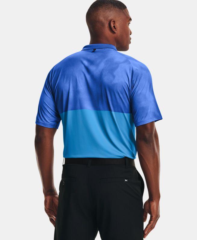 男士UA Iso-Chill Afterburn Polo衫