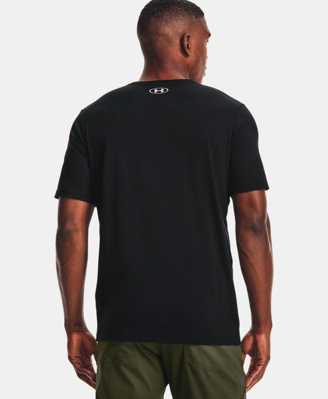 男士UA Stacked Logo Fill T恤