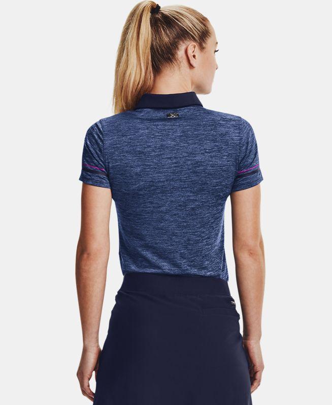 女士UA Zinger Heathered短袖Polo衫
