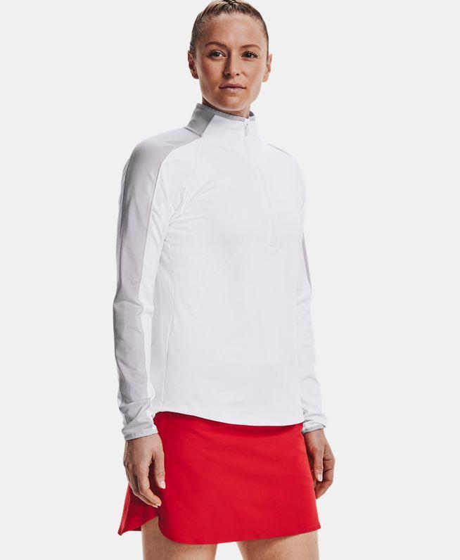 女士UA Storm Midlayer 1/2拉链运动上衣