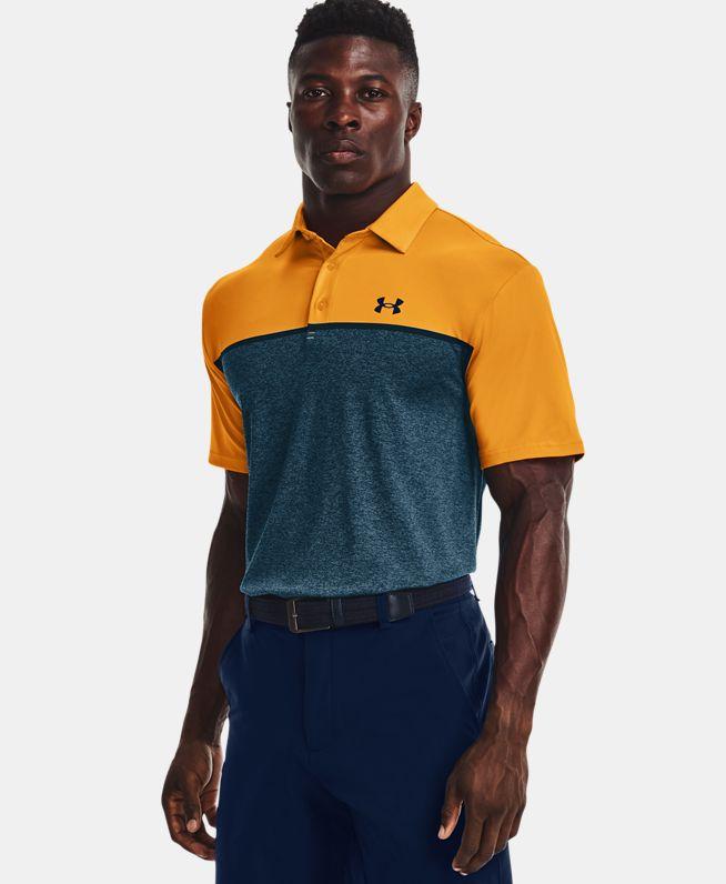 男士UA Playoff Edgelit短袖Polo衫