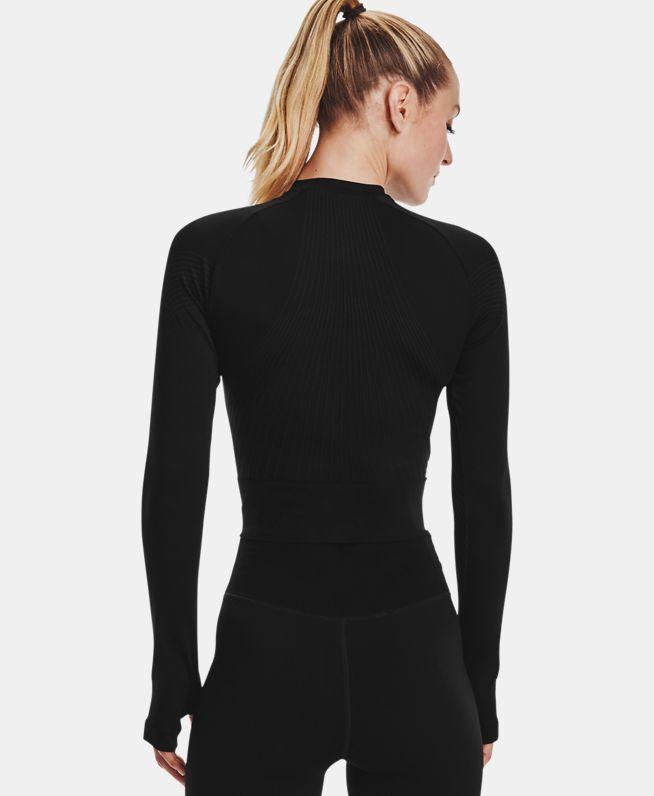 女士UA RUSH Seamless长袖运动衣
