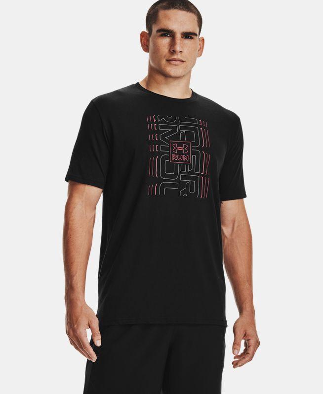 男士UA Graphic 2跑步短袖T恤