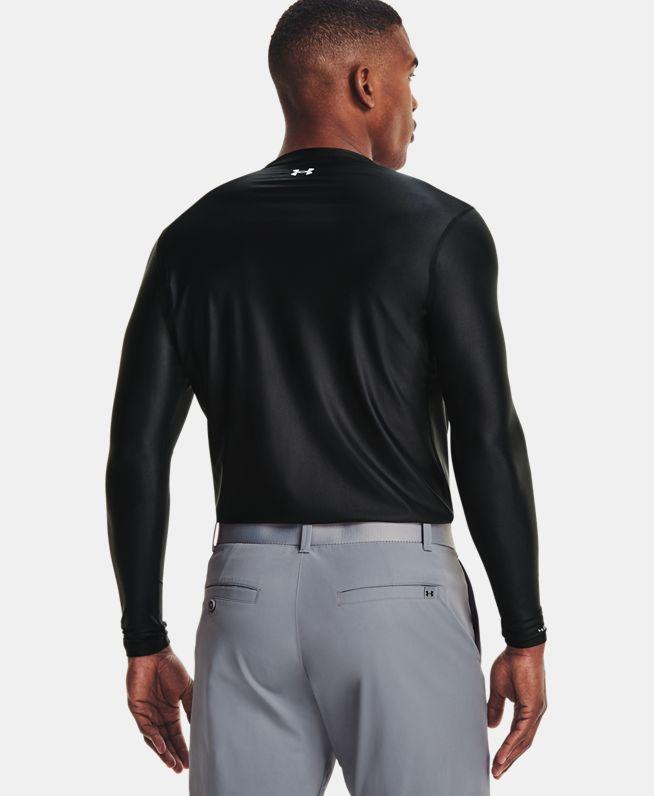 男士UA Iso-Chill V领长袖上衣