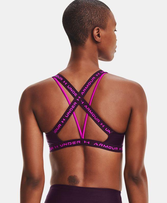 女士UA Crossback Shine运动内衣—低强度