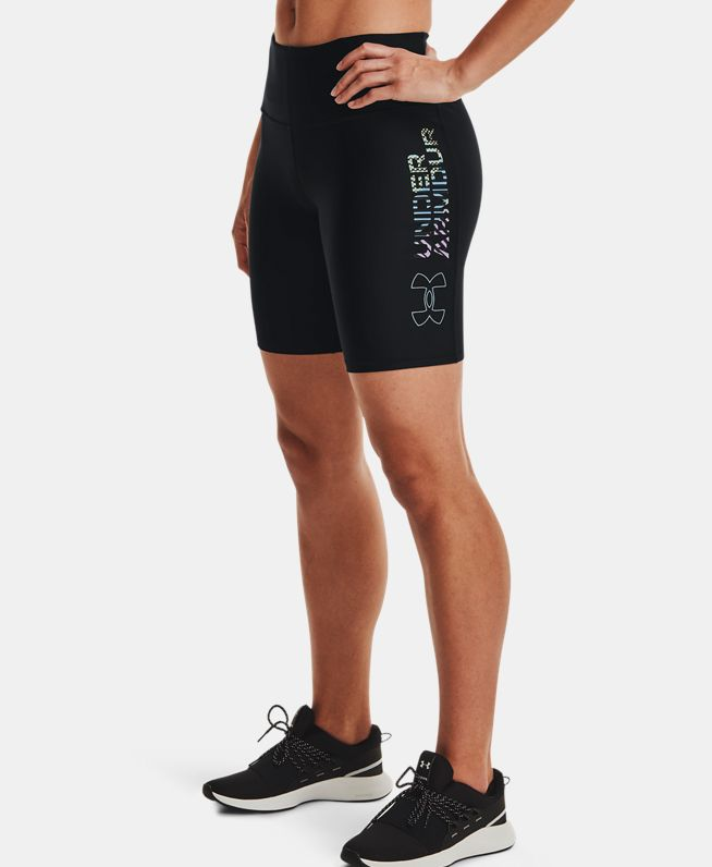 女士HeatGear® Armour Geo Bike短裤