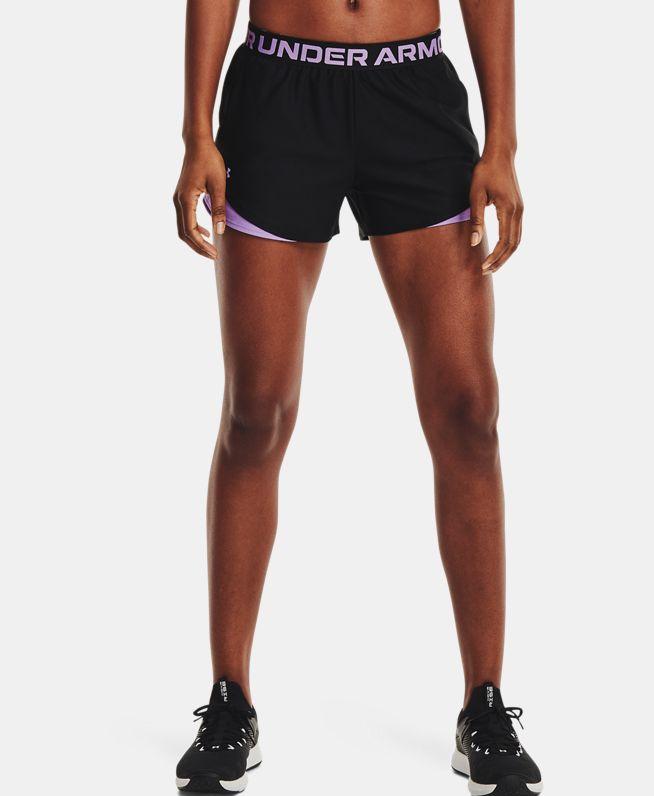 女士UA Play Up 3.0 Geo短裤