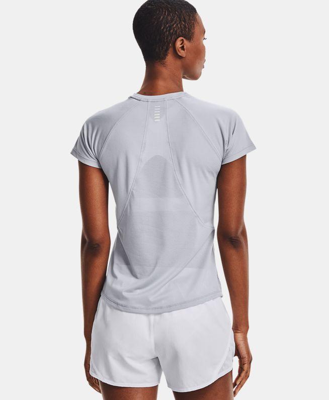 女士UA Coolswitch跑步短袖T恤