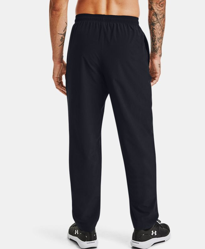 男士UA Lined抓绒梭织长裤
