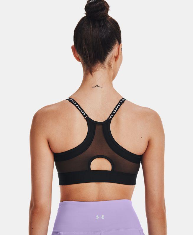 女士UA Infinity Covered运动内衣—低强度