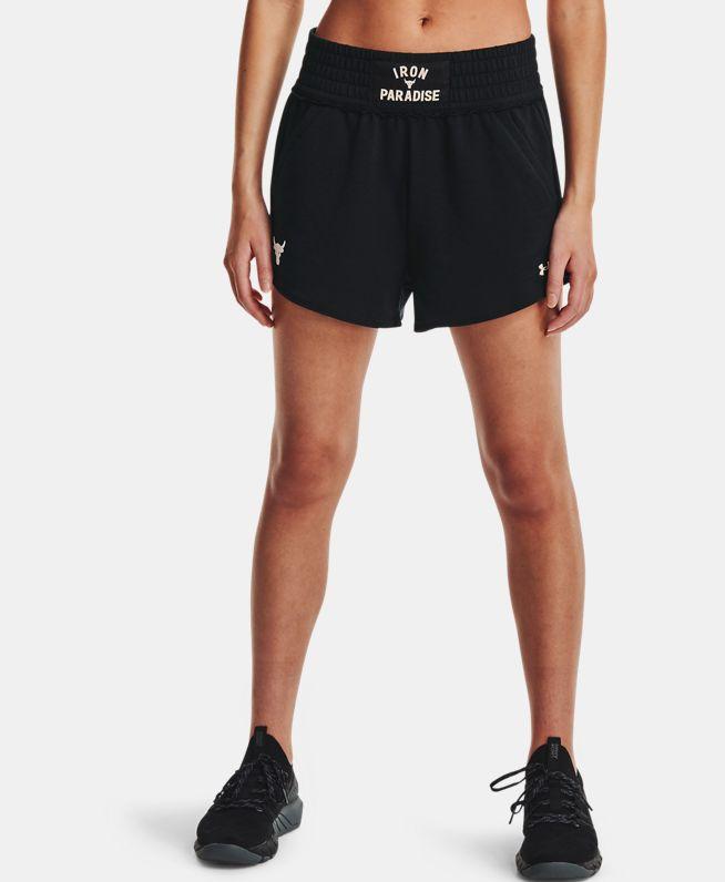 女士Project Rock强森Terry短裤