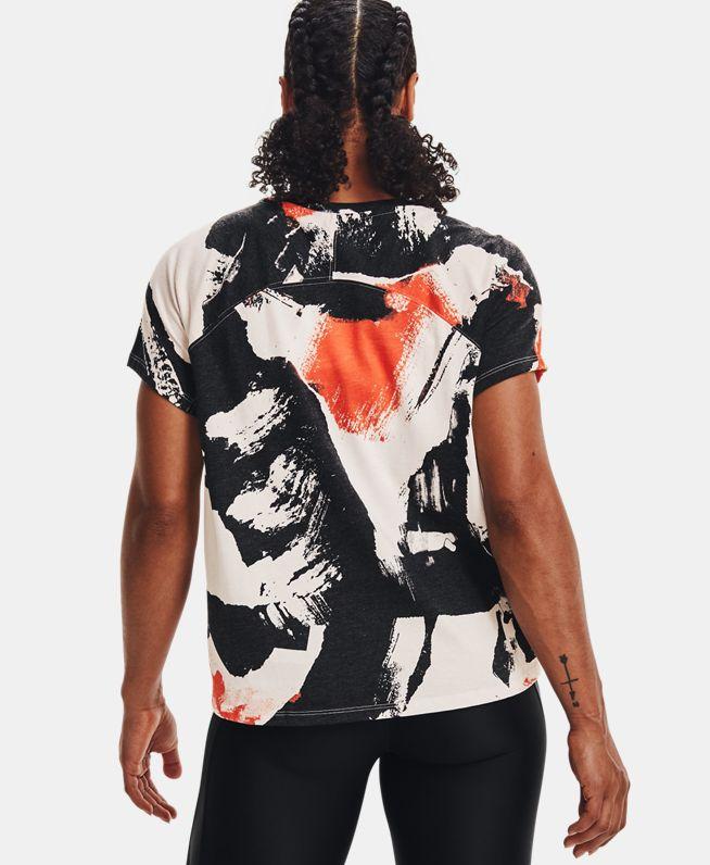 女士Project Rock强森印花短袖T恤