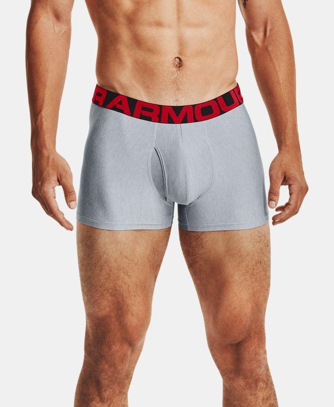 男士UA Tech Boxerjock 3英寸内裤—2条装