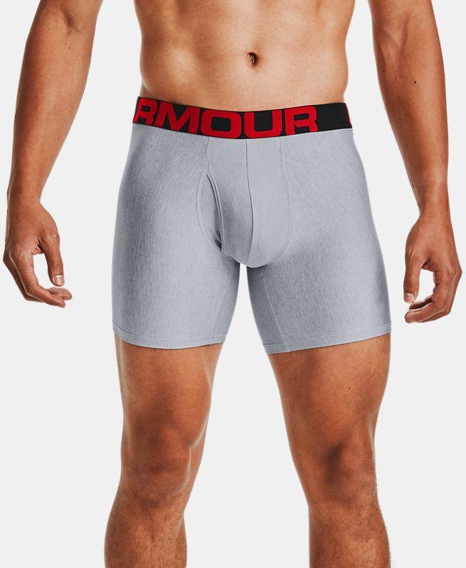 男士UA Tech 6英寸Boxerjock内裤—2条装