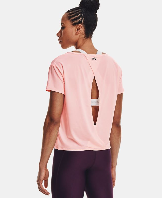 女士UA Tech Vent短袖T恤