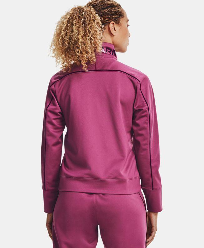 女士UA RECOVER Tricot 1/4拉链运动上衣