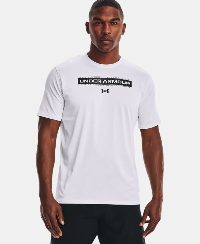 男士UA Training Vent Graphic短袖T恤