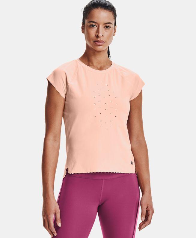 女士UA RUSH Perf短袖T恤