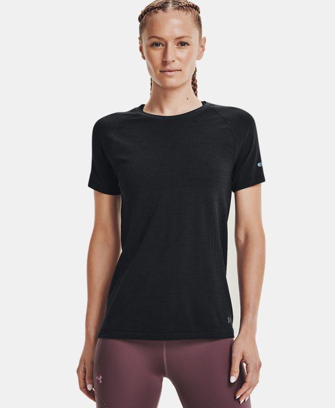 女士UA Seamless跑步短袖T恤