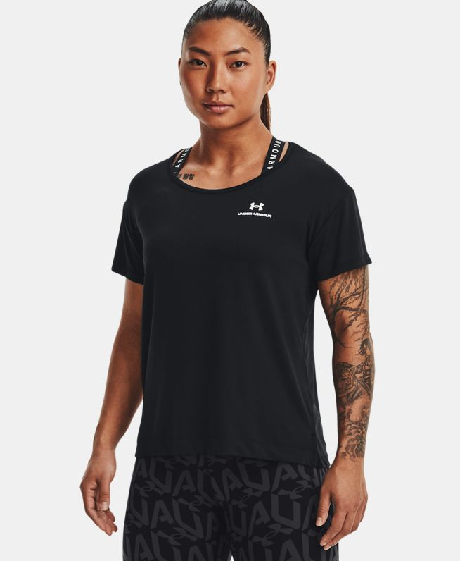 女士UA RUSH Energy Core短袖T恤