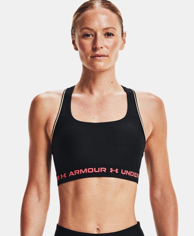 女士Armour Crossback 80s运动内衣—中强度