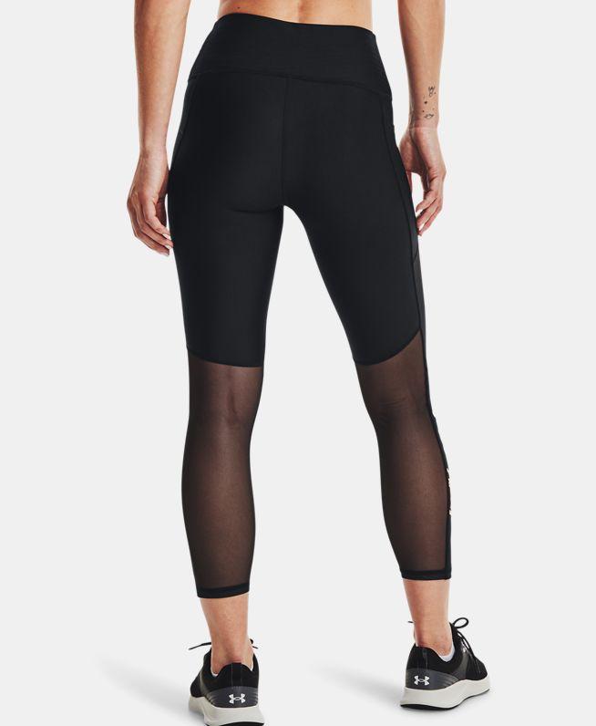 女士HeatGear® Armour Graphic Ankle七分裤