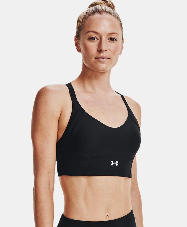 女士UA Infinity Rib运动内衣—中强度