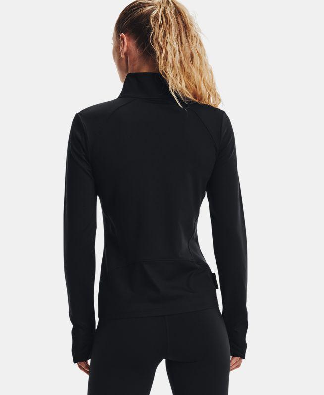 女士UA HydraFuse 1/2拉链运动上衣