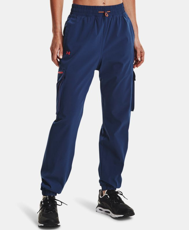 女士UA RUSH Joggers梭织长裤