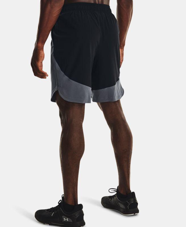 男士UA HIIT Colorblock梭织短裤