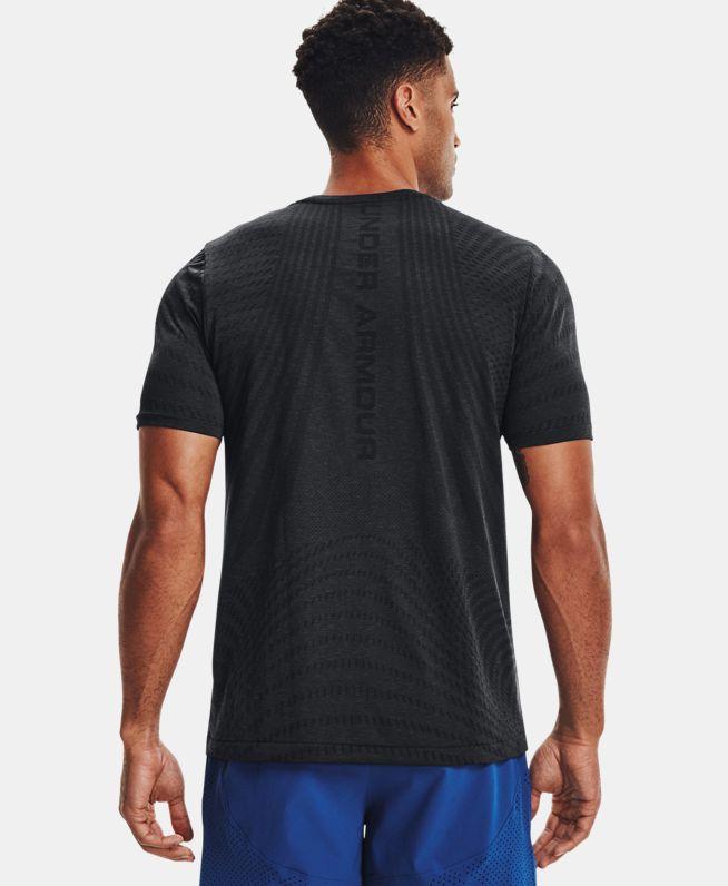 男士UA RUSH Seamless Illusion短袖T恤