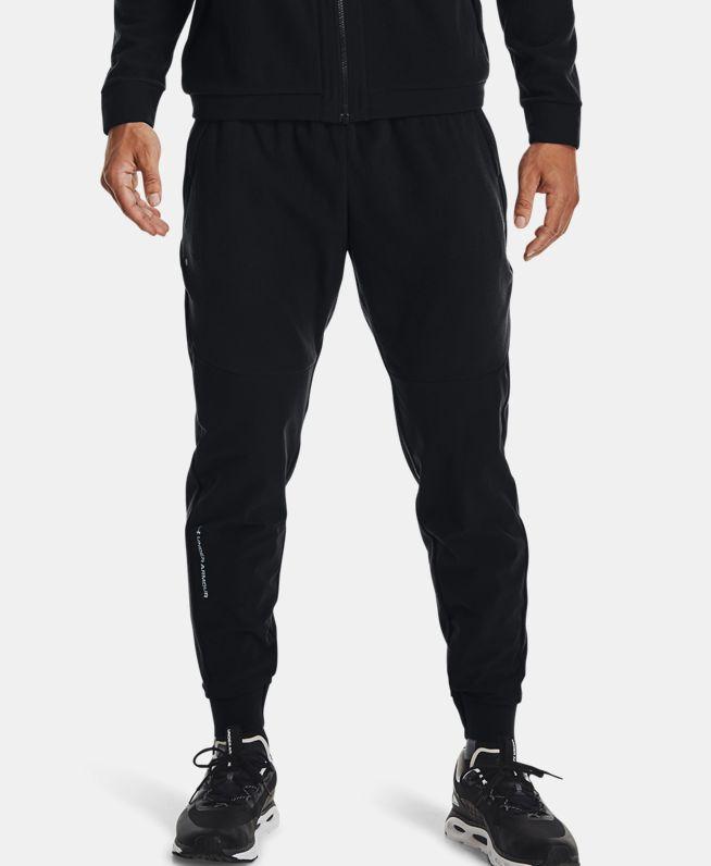 男士UA RUSH抓绒长裤
