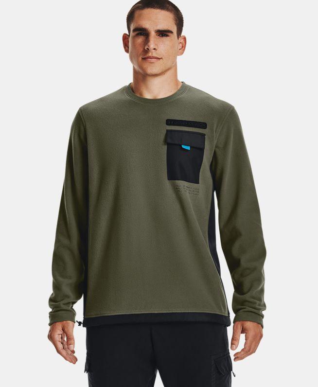 男士ColdGear® Infrared Utility Crew圆领运动衣