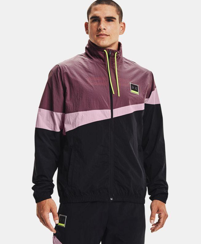 男士UA Fashion梭织全拉链夹克