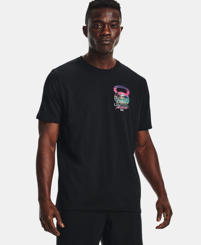 男士UA Wave Crusher短袖T恤