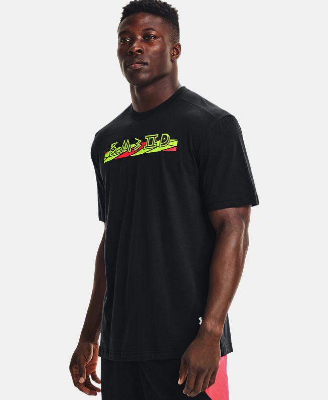 男士UA恩比德Embiid Script短袖T恤