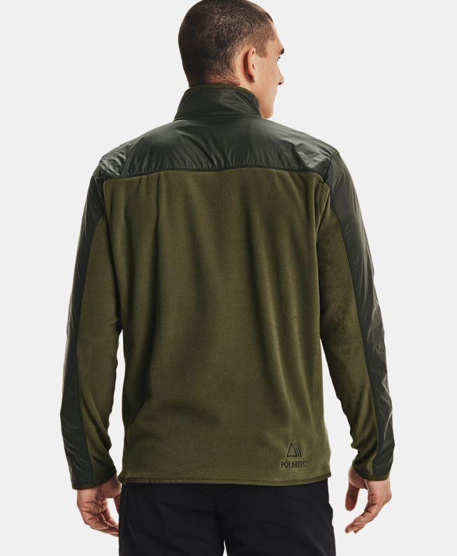 男士UA Polartec Forge 1/4拉链运动上衣