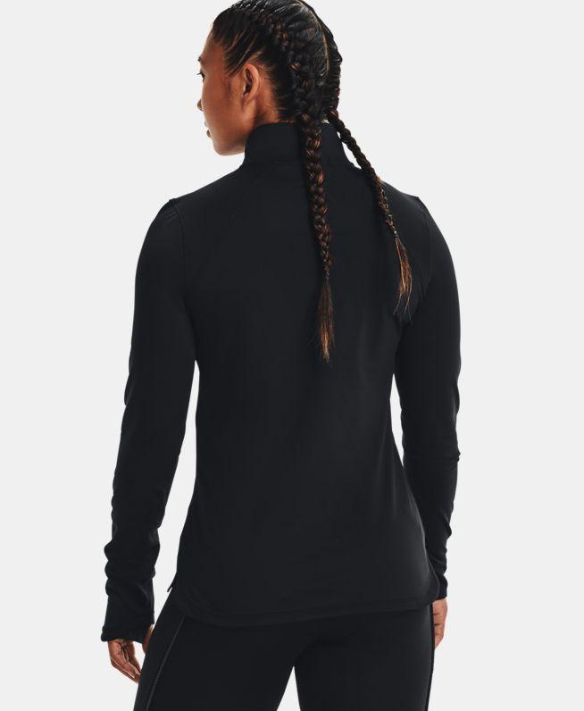女士UA ColdGear® Cozy 1/2拉链长袖上衣