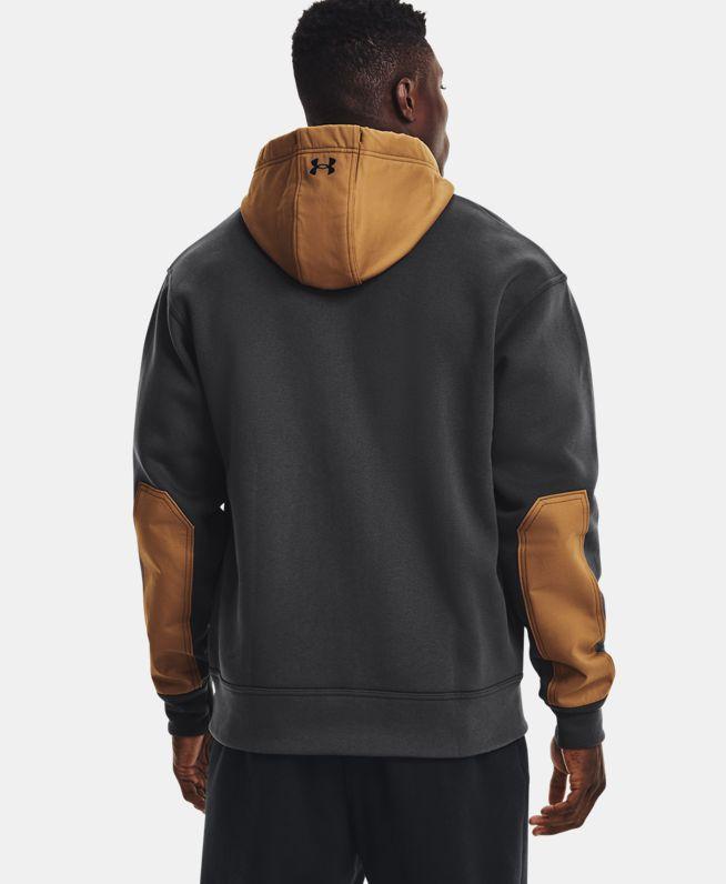 男士Project Rock强森OG Hybrid全拉链运动衣