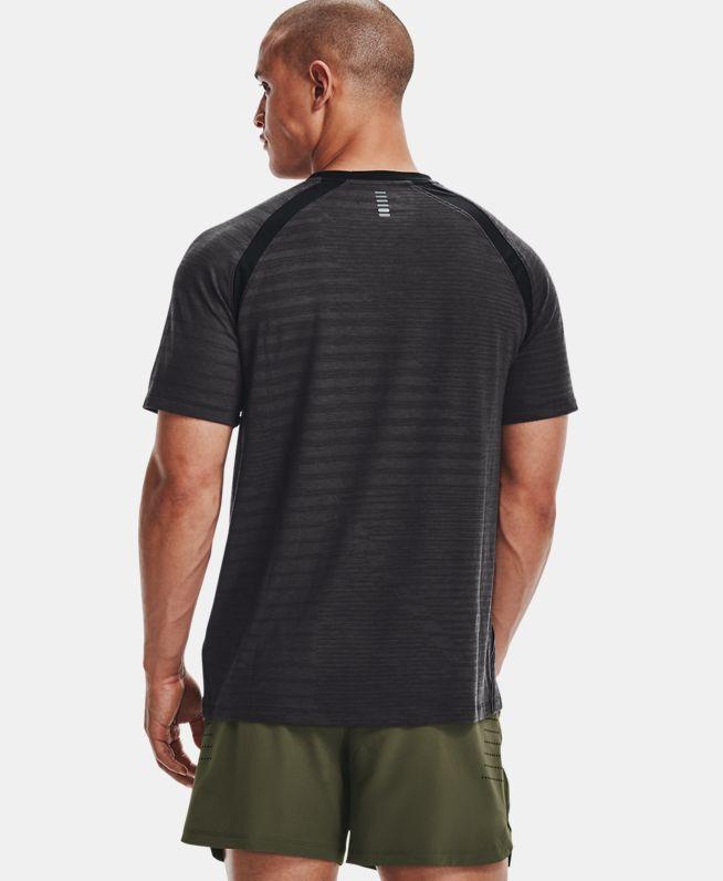 男士UA Streak Phantom跑步短袖T恤