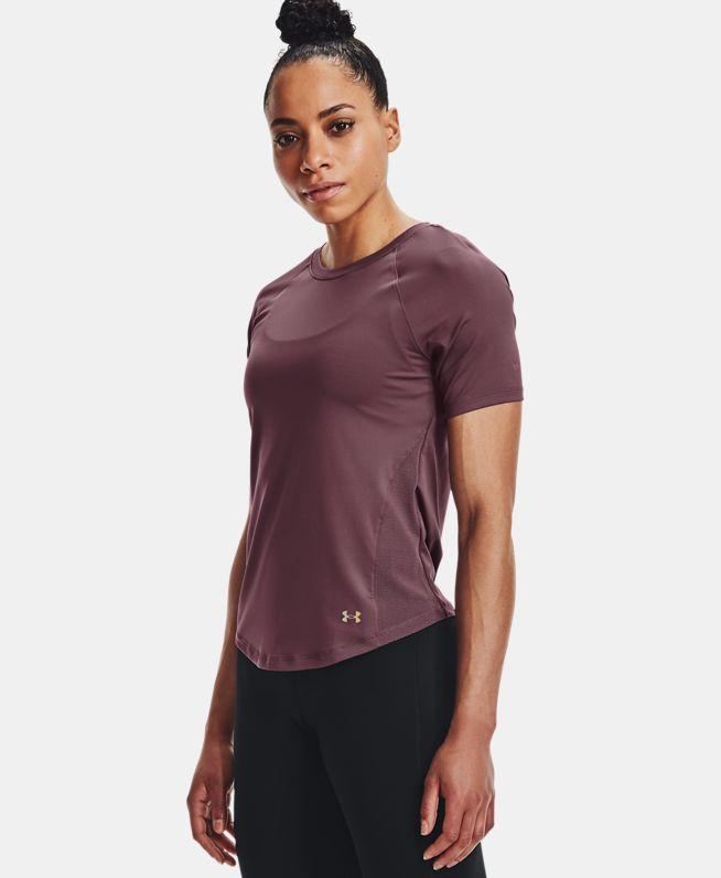 女士UA RUSH Mesh短袖T恤